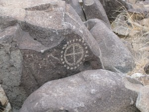 One of many petroglyphs