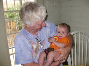 Grandma Jan with Savanna