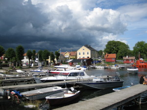 The waterfront at Sandhamn