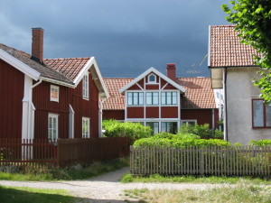 Front of a home at Sandhamn