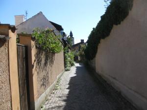 Narrow streets of Visby