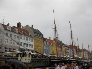 Along the waterfront of Copenhagen