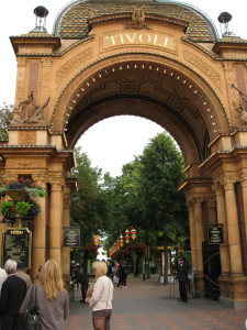 Entrance to Tivoli Garden