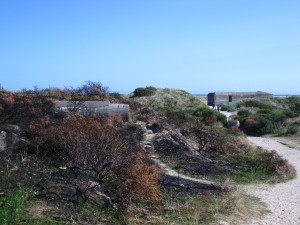 World War II bunkers