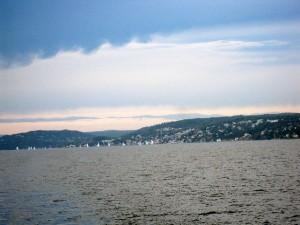 Leaving Oslo behind