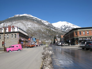 View of downtown Silverton