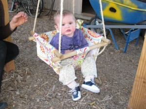Mama made me a swing