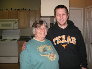 Grandma Edith with Sam