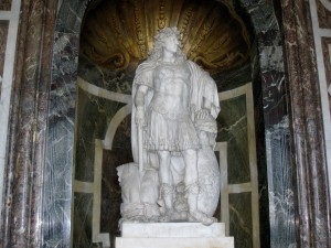 Statue in palace