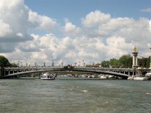 Bridge over Seine River