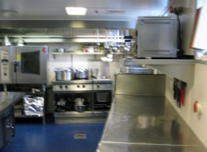 Part of galley