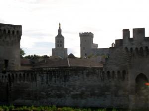 Walls at  Avignon