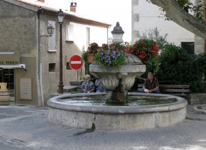 Fountain at Arles