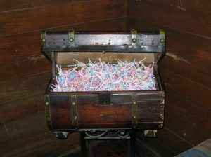 Chest of candy