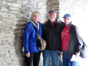 Three of us in the tower