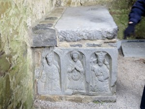 Tomb at the abbey