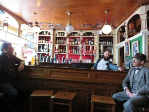 Inside the Greyhound