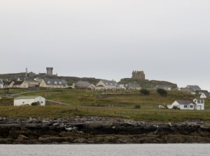 View of Inisheer with O'Brien Castle