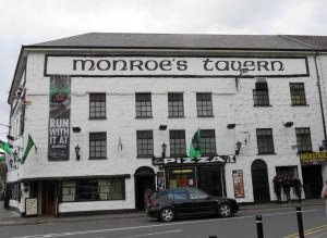 Outside Monroe's