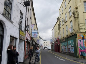 One of Galway's streets