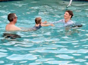 Let's splash around