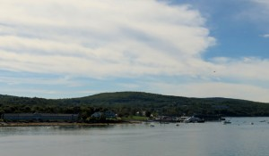 Shoreline of Bar Harbor