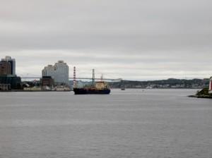 Approaching Halifax