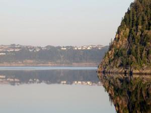 Approaching Saguenay