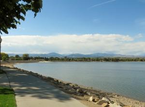 Boyd Lake scene