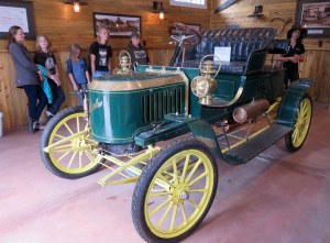 Stanley automobile from early 1900's