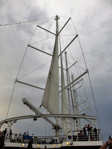 Sails opening up