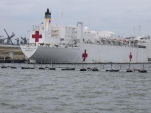 Naval hospital ship