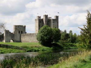 Backside of Trim Castle
