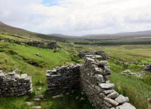 Remnants of the Deserted Village settlement
