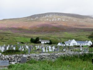 Cemetery at Slievemore