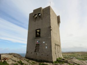 Old tower at Malin Head