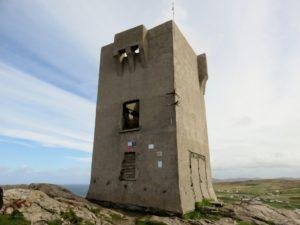 Old tower at Malin Head
