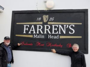 Fosters by Farren's sign