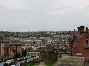 Small portion of Derry from the wall