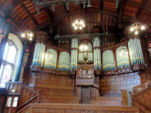 Pipe Organ in Main Hall