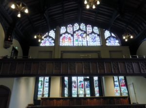 More stained glass windows