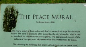 Information on the Peace Mural