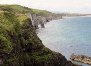 Coastline looking from Dunluce Castle