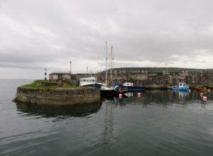 Dock area at Carnlough