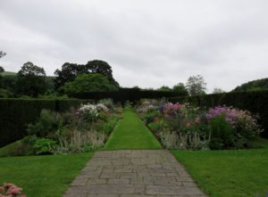 Some of walled garden at Glenarm