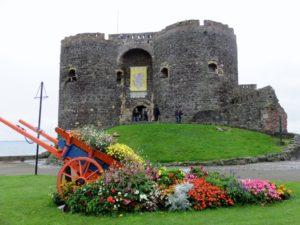Approaching Carrick Castle