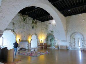 Room inside castle