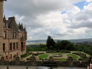 Courtyard at Belfast Castle