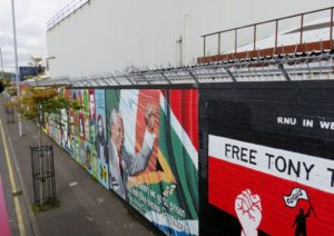 More of peace wall