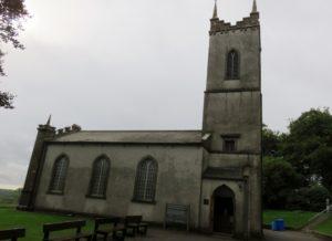 Hill of Tara Church; now visitor center